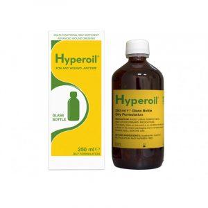 HYPEROIL με ελαιώδη σύνθεση από την Medical Mate για την επούλωση τραυμάτων κατά το στάδιο της κοκκιοποίησης.